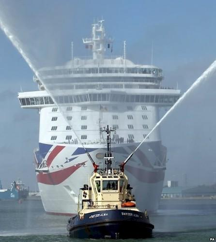 British Gin Menu On New PO Cruise Ship Britannia Gin Club Scotland - Britannia cruise ship