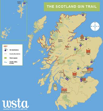 Scottish Gin Trail Gin Club Scotland