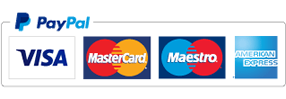 We accept Paypal and Credit/Debit Cards